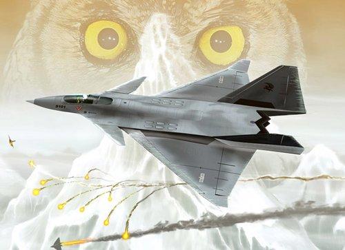 澳媒:探测到F-22是中国四代机最基本能力(图)
