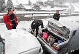 京开高速公路上发生追尾事故