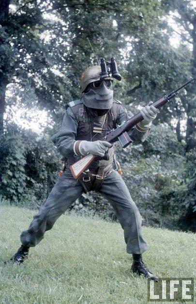 美国陆军1959年版的 未来战士