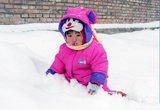 [北京]雪中美女宝宝