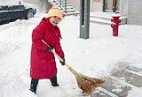 [天津]我来扫雪啦
