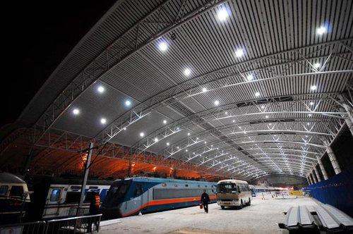 组图:铁路上海站改造进入尾声