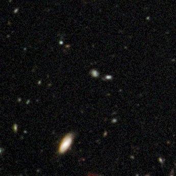 哈勃天文望远镜拍到最早期宇宙照片