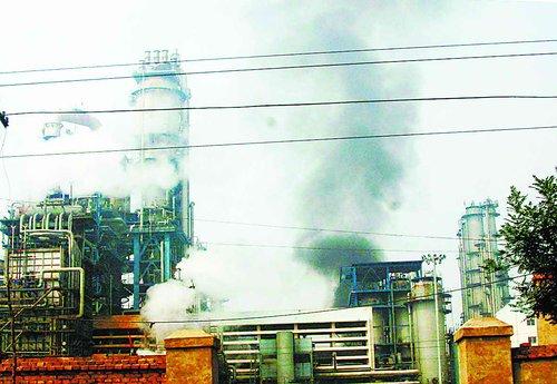2006年6月28日兰州石化公司炼油厂发生爆炸