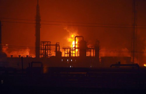 兰州西固爆炸橡胶厂厂方拒绝任何采访