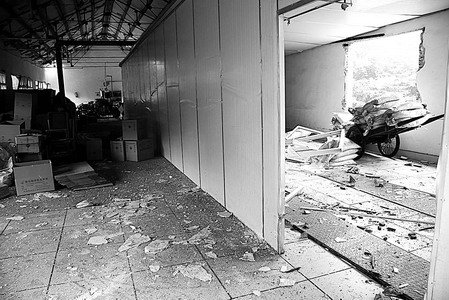 安徽当涂化工厂爆炸 造成10人死亡30人受伤(图)