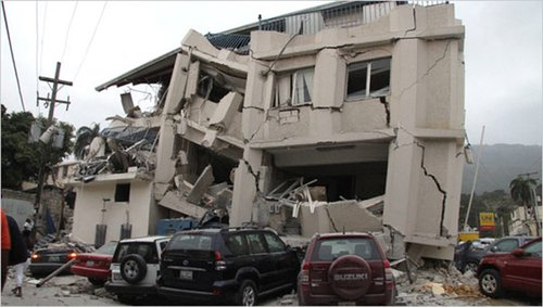 海地建筑物安全性较差 遇强震恐造成重大伤亡
