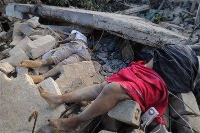 海地遭遇二百年来zui强地震 恐致数十万人死亡