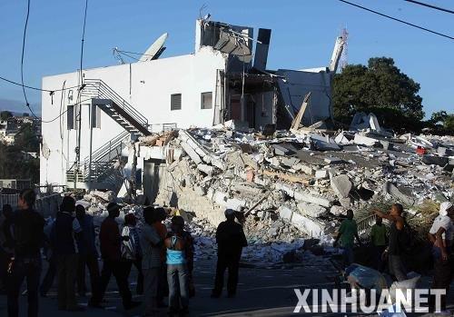 震区手记:海地地震,生命不能承受之震