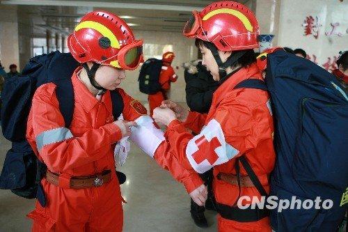 中国救援队已救治海地地震重残伤员百余人