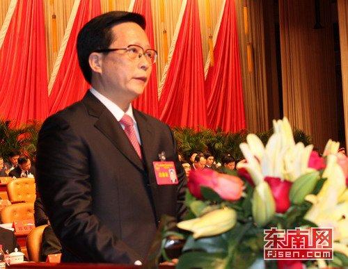 袁荣祥当选福建福州市人大主任 苏增添当选市长