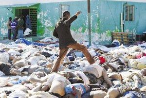 海地部长级以上高官玩失踪 80%当地医生丧生