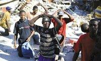 海地震后出现混乱