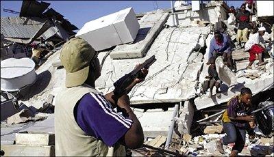 海地骚乱频发救援人员遭枪击