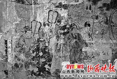 晋城发现关公壁画