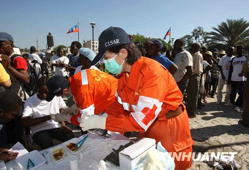特稿:一名中国国际救援队员的日记