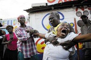 海地15岁女孩捡3张装饰画被当成劫匪击毙(图)