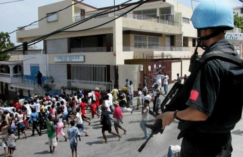 张召忠谈海地维和:中国以后会派维和战斗部队