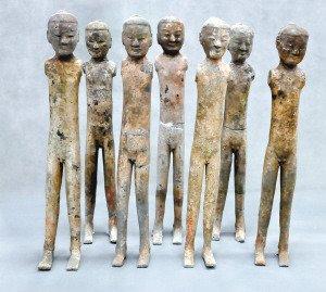 西安西汉将军张安世墓地出土数万陶俑(图)