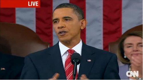 奥巴马发布上任后首份国情咨文