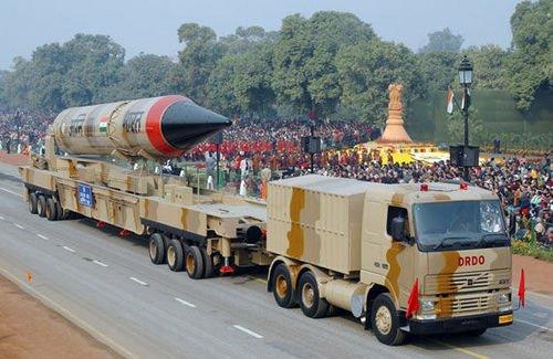 """印度即将试射""""烈火3""""导弹 能打到北京和上海"""