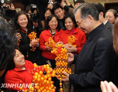温家宝总理同北京市社区群众座谈纪实