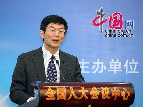国务院新闻办公室网络局副局长刘正荣讲话 杨佳/摄