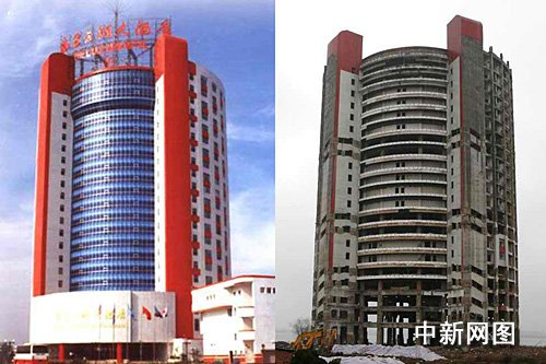 南昌6日将炸平一四星酒店 因为原址要盖五星酒店