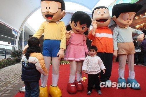 图:国内首条动漫体验街登陆上海
