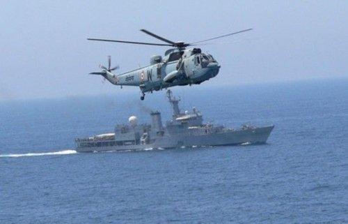印度召集12国大搞海军演习 否认恫吓中国(图)