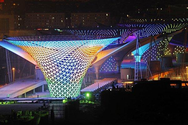 图集 上海世博会中国馆竣工