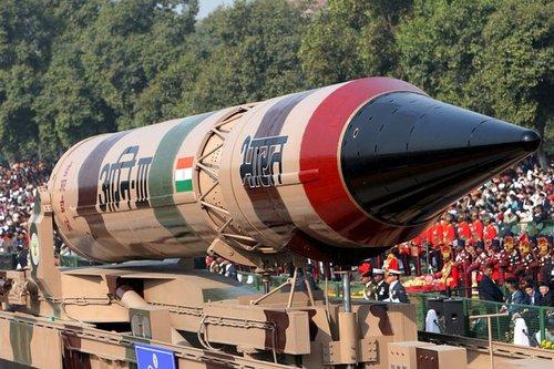 """印度计划一年内试射""""烈火-5""""洲际导弹(组图)"""