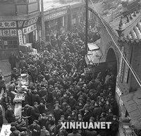 组图:关于春节的黑白记忆