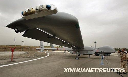 以色列推世界最大无人机 最远航程可达伊朗