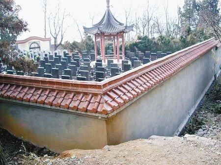 陕西商洛烈士陵园卖墓地 限葬县团级干部