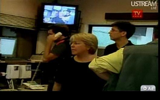 图文:智利发生特大地震瞬间画面曝光