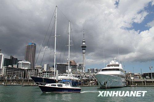 新西兰发布海啸预警 奥克兰港口关闭