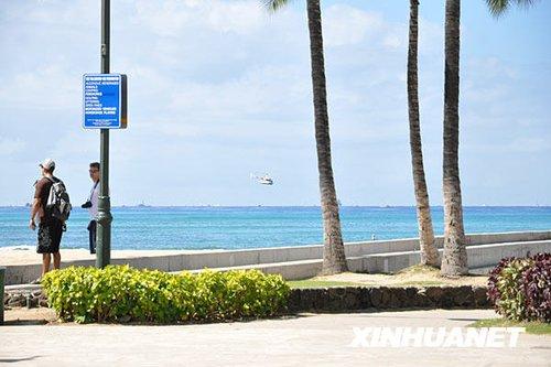 夏威夷发布海啸预警