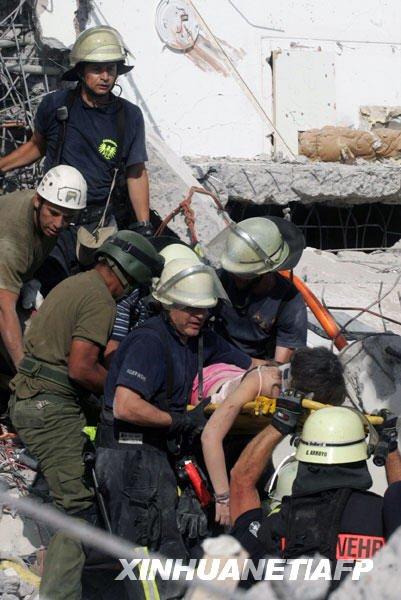 组图:智利强烈地震已造成至少300人死亡