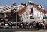 康塞普西翁8.8级地震后房屋倒塌