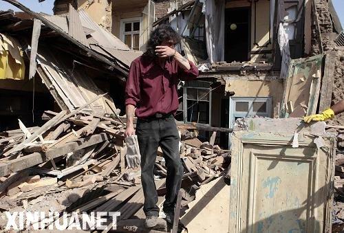 智利总统宣布对受灾最严重的两个地震灾区实行宵禁
