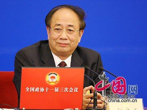 全国政协十一届三次会议发布会发言人赵启正