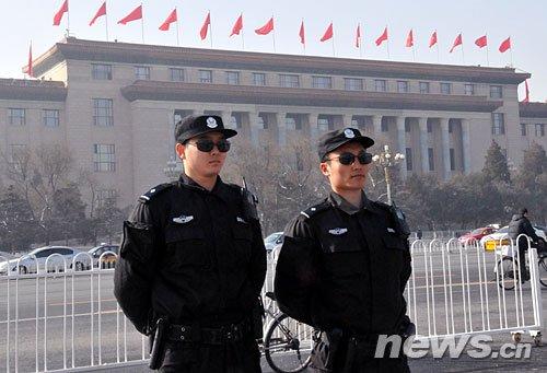 北京警方动员70万保卫力量确保和谐两会