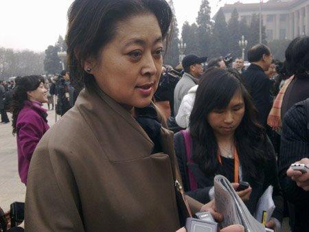 刘翔倪萍与朱军 政协上的明星脸(组图)