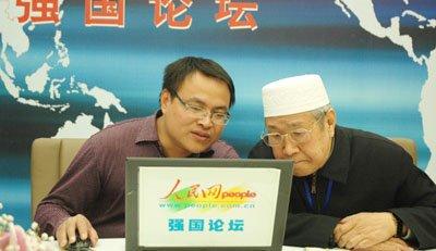 """花絮:宗教界委员们的""""网络生活"""""""