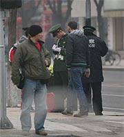 两会期间的北京:3日之街头安保