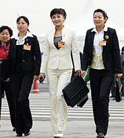 组图:十一届全国人大三次会议举行预备会议