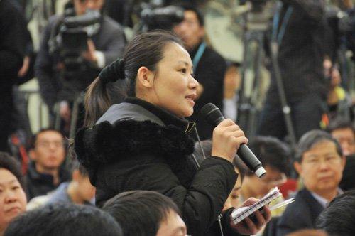 图文:北京晚报记者提问