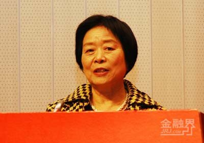 资料图:全国人大财经委员会副主任吴晓灵