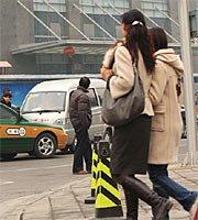 两会期间的北京:4日之街头一角